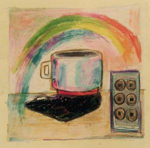 サナダマルとコーヒー